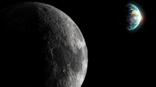 Tides and spin gave the Moon its strange lemon shape more than four billion years ago, research reveals.