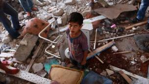 UN officials accuse Israel of launching a deadly attack on a UN-run school housing thousands of refugees in Gaza despite repeated warnings.