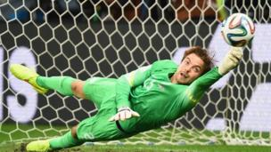 Goalkeepers in penalty shoot-outs make a predictable error that could influence the outcome of the game according to new research.