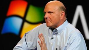 Former Microsoft chief executive Steve Ballmer announces he is stepping down from the board with immediate effect.
