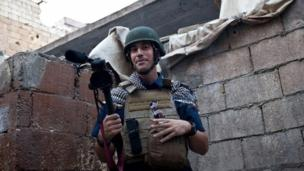 The Islamic State militant group releases a video purporting to show the beheading of US journalist James Foley, seized in Syria in 2012.