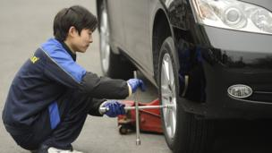 China levies a fine totalling 1.24bn yuan ($202m; £121m) on twelve Japanese car parts companies for price-fixing.