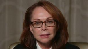 The mother of US journalist Steven Sotloff, held hostage by IS militants, pleads with his captors to release him in a video appeal.