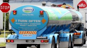 New Zealand dairy giant Fonterra announces its intention to take a 20% stake in one of China's biggest milk processors, Beingmate.