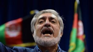 Afghan presidential candidate Abdullah Abdullah withdraws observers from an audit of votes, threatening to boycott it because of fraud concerns.
