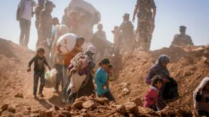"The UN says Syria is now ""the biggest humanitarian emergency of our era"" with more than three million Syrians living outside the country as refugees."