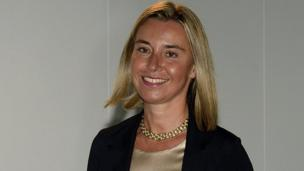 There are strong signs that EU leaders will choose Italy's Foreign Minister Federica Mogherini to be the new EU foreign affairs chief.