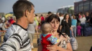 The number of people who have fled the fighting in Ukraine has doubled in weeks, and the UN says more than a million have now been displaced.