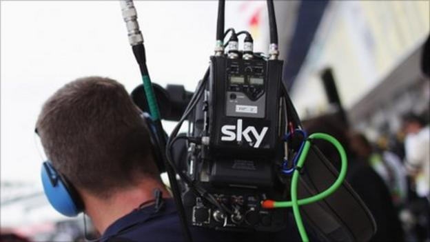 Pay-TV firm Sky is launching a mobile phone service next year as the battle for a slice of the UK's telecoms market intensifies.
