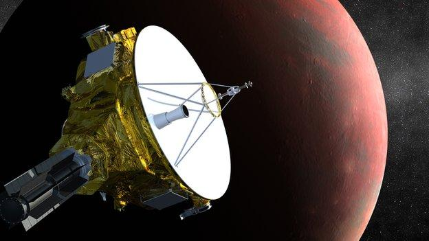 Nasa's mission to Pluto gets under way in earnest as the New Horizons probe starts taking the pictures needed for July's close fly-by.