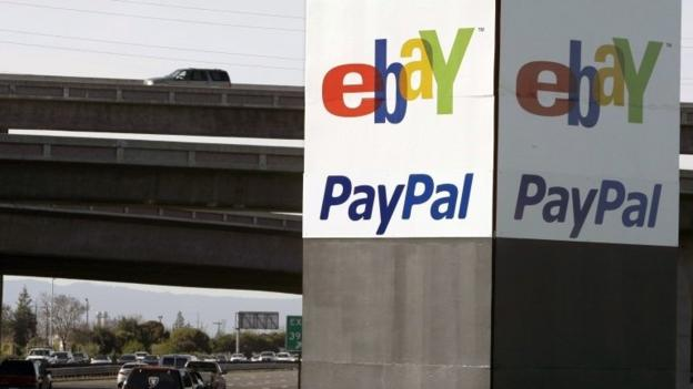 The online auction site eBay is planning to split off its payments system PayPal into a separate company next year.
