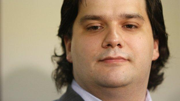 The founder of MtGox - once the world's biggest bitcoin exchange - is arrested by Japanese police investigating losses of nearly $400m.