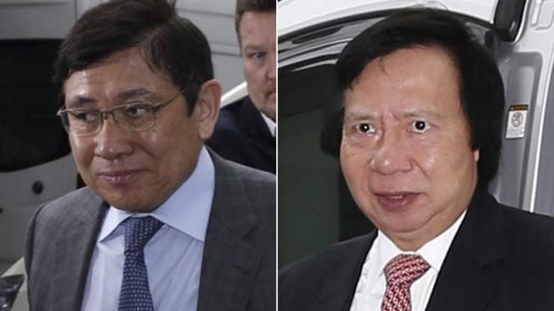 Hong Kong property tycoon Thomas Kwok and a former government official have been found guilty in the city's biggest-ever corruption case.