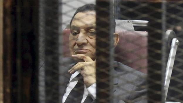 A court in Egypt is due to deliver a verdict in the retrial of ousted President Hosni Mubarak on charges of conspiring to kill protesters in 2011.