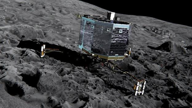 Europe's Rosetta mission, which aims to land on a 4km-wide comet later this year, identifies what it thinks is the safest place to touch down.