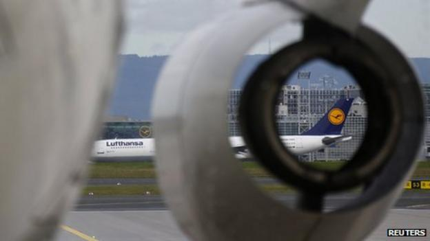 German airline Lufthansa, hit by a series of strikes, warns of more cost-cutting despite a profits improvement in the first quarter.