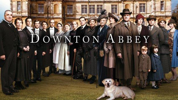 The first episode of the fifth series of costume drama Downton Abbey is watched by an average audience of 8.1m on ITV.