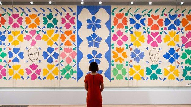 An exhibition of Henri Matisse's cut-out art is the most successful exhibition held to date at the Tate with more than 560,000 visitors.