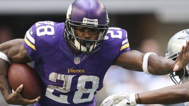 Hotel chain Radisson suspends sponsorship of NFL team the Minnesota Vikings after one of its players was charged with child abuse.