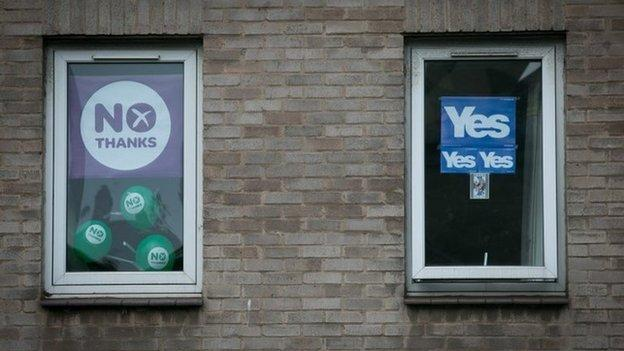 Both sides in the Scottish referendum campaign make their final pitches to voters as the latest polls suggest the result remains too close to call.