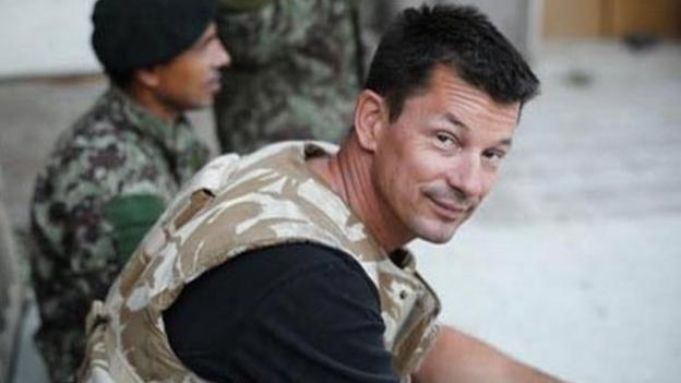 A new video is released showing a British man, identified as journalist John Cantlie, believed to be held hostage by Islamic State militants.