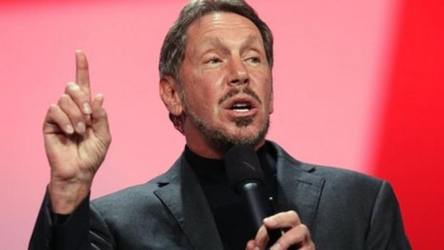 Multi-billionaire Oracle boss Larry Ellison steps aside to focus on product engineering, as Mark Hurd and Safra Catz are named as co-chief executives.