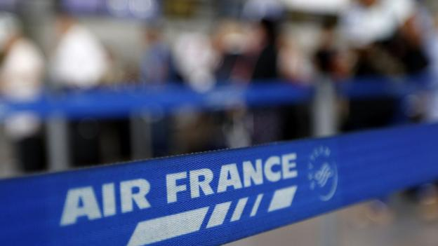 "The fate of Air France is ""at stake"" in a dispute between Air France and its pilots, according to France's Transport Minister."