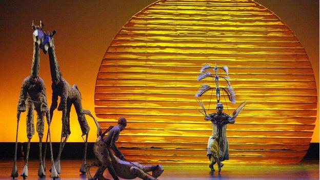 Musical The Lion King takes more money at the box office than any other stage show or cinema release.