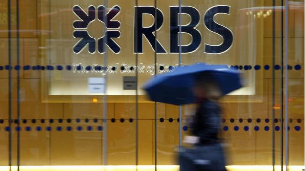 Royal Bank of Scotland cuts the price of shares in the sale of a stake in US bank, Citizens Financial Group.