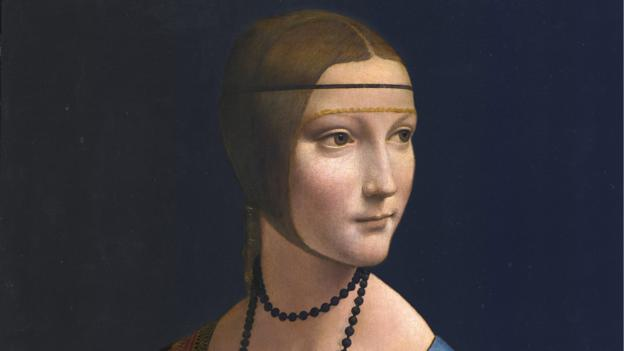 Leonardo Da Vinci painted three versions of his famous painting The Lady with an Ermine, a French scientist discovers.