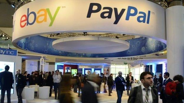 E-commerce site eBay is planning to split off its payments system PayPal into a separate company next year.