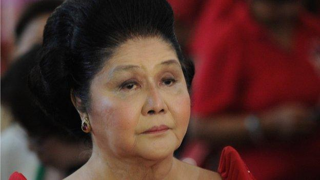 Artworks belonging to former Philippine first lady Imelda Marcos are seized by authorities who claim they were acquired with embezzled state funds.