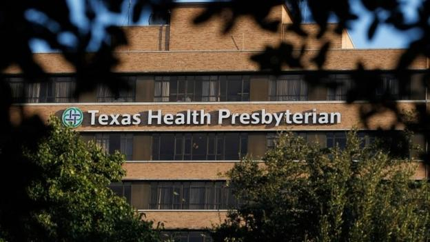 Children have come into contact with the first patient to be diagnosed with Ebola on US soil and are being monitored, the Texas governor says.