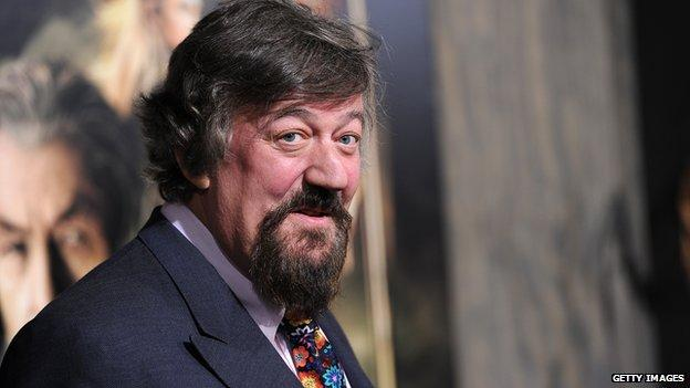 "Actor and broadcaster Stephen Fry says there is a ""huge moral difference"" between historical drug use and cases of sexual abuse."