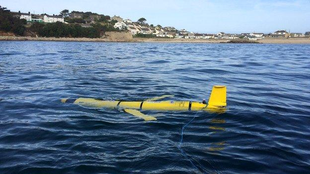 A fleet of marine robots is being launched in the largest deployment of its kind in British waters.
