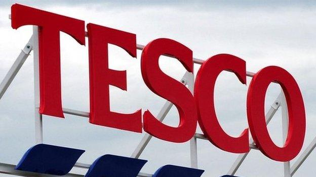 The BBC has learned one of the Tesco executives suspended by the company over the £260m profit misstatement has left the company.