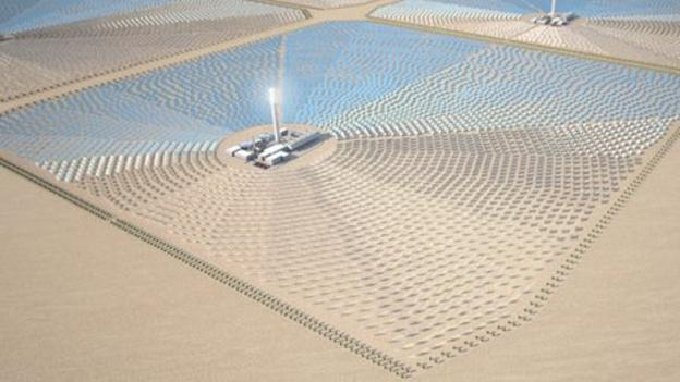 Investors are seeking funding from the UK government for an ambitious plan to import solar energy generated in North Africa.