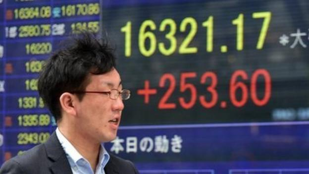 Asian shares bounce back after positive data and earnings from the US, and gains on Wall Street