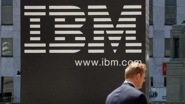 IBM is paying $1.5bn to offload its loss-making chip manufacturing division to Abu Dhabi's GlobalFoundries as it announces a 17% profits fall.