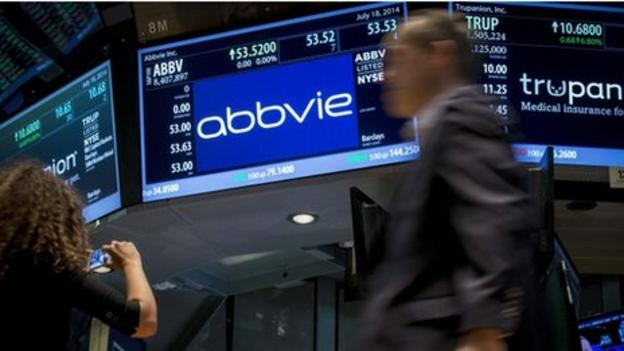 US firm AbbVie announces it has abandoned its talks with UK drugmaker Shire after a new US rule discouraging mergers that would lower a US firm's tax rate.