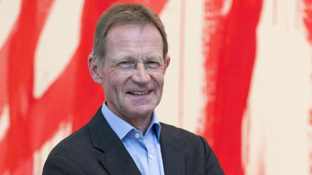 Tate director Sir Nicholas Serota is named the most powerful figure in the art world.