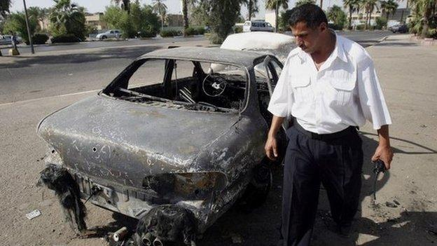 A US federal jury finds four Blackwater security guards guilty of killing 14 Iraqis in a square in Baghdad in 2007.