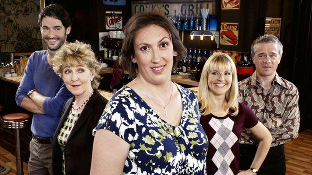 TV star Miranda Hart announces there will be no more episodes of her hit BBC sitcom after this Christmas.