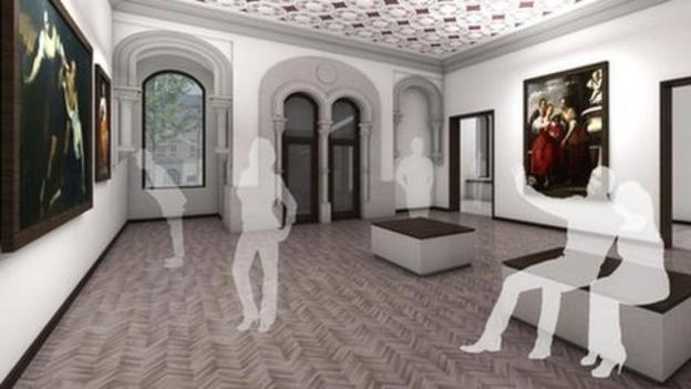 "A new art gallery showing major works of art from Spain's ""golden age"" is to open in a former bank in Bishop Auckland, County Durham."