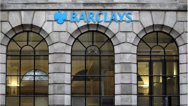 "Barclays reports profits of £3.72bn for the first nine months of the year as it sets aside £500m relating to ""investigations"" into foreign exchange trading."