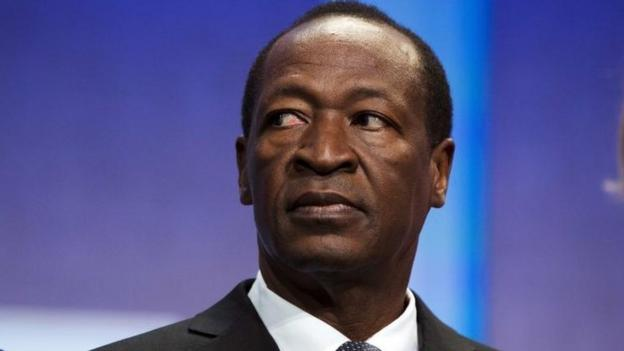 Burkina Faso's President Blaise Compaore resigns following violent protests, with army chief Honore Traore taking over as head of state.