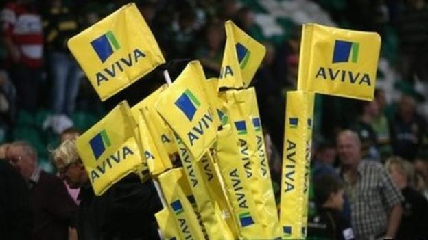 Aviva's shares fall 4% in early trading following Friday's announcement that it is in talks about a possible £5.6bn merger with smaller rival Friends Life.