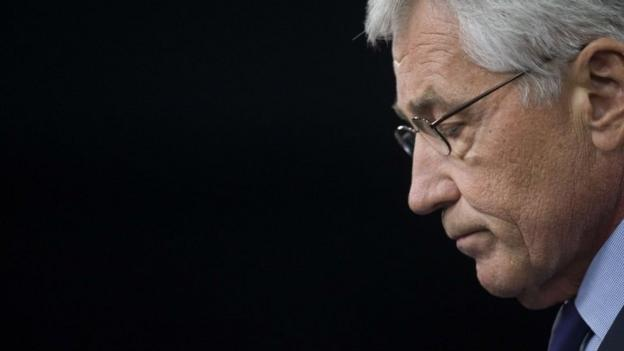 Chuck Hagel has resigned as US defence secretary after less than two years in the post, following a series of meetings with President Barack Obama.