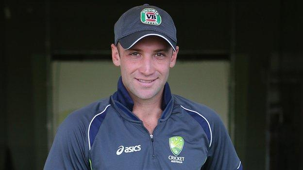 Australia batsman Phil Hughes remains in a critical condition after being struck on the head by a ball in a match.