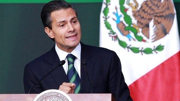 Mexico's president announces plans for a massive overhaul of police, in the wake of the disappearance of 43 students in September.